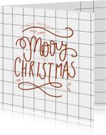 Zakelijke kerstkaart ruit -HM