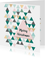 Zakelijke kerstkaarten - Zakelijke Kerstkaart Scandinavisch patroon