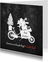 Zakelijke kerstkaarten - Zakelijke kerstkaart transport verhuizen en bezorgen