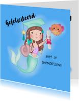 Geslaagd kaarten - Zwemdiploma Zeemeermin Academie