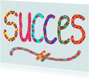 Succes kaarten - Ansichtkaart Succes Retro PA