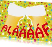 Carnavalskaart Bier en Alaaf