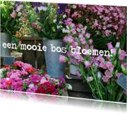 fotokaart prachtige bloemen