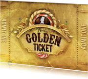 Golden ticket goud
