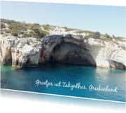 Groetjes uit Zakynthos