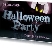 HALLOWEEN PARTY uitnodiging