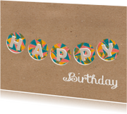 Verjaardagskaarten - Happy Birthday 3_Illu-Straver