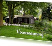 Housewarming - foto huis liggend - OT