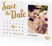 Kalender Save the Date foto - BK