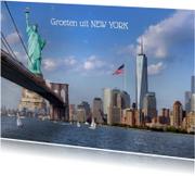 NEW YORK met een knipoog
