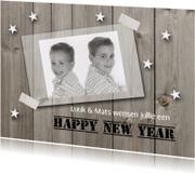 Nieuwjaarskaart met foto 02