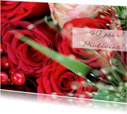 Rode rozen 40 jaar