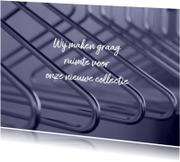Kaarten mailing - sale informeer uw klanten mode