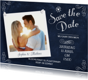 Save the Date Schoolbord Hip