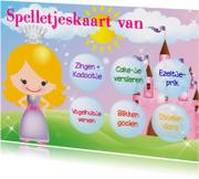 Spelletjeskaart Prinses