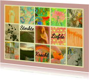 Sterkte kaarten - Sterktekaart Liefde en Kracht IW