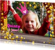 Uitnodiging Prinsessenfeest Eigen Foto