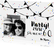 Uitnodiging samen verjaardag