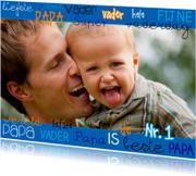 Vaderdagkaart eigen foto