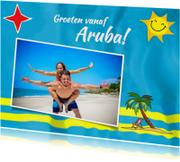 Vakantie - Vlag Aruba