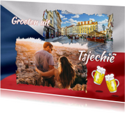 Vakantie - Vlag Tsjechië