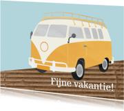 Vakantiekaart camper busje