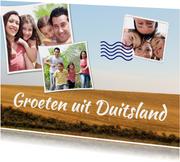 Vakantiekaart groeten uit Duitsland