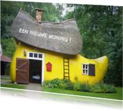 Felicitatiekaarten - Verhuiskaart Klomp Woning