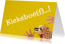 Zomaar kaarten - Boef Brom trekt gekke kop
