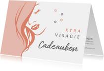 Kaarten mailing - Cadeaubon zakelijk zzp visagie liggend