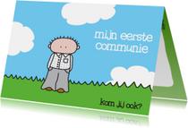 Communiekaarten - Communie Eerste Jongen