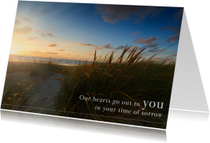 Condoleancekaarten - Engelse condoleancekaart