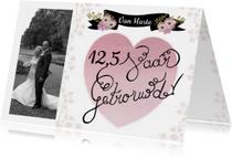 Felicitatie getrouwd jubileum
