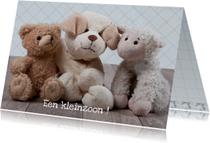 Felicitatiekaarten - Felicitatiekaart knuffels MM