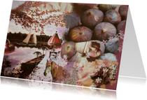 Kunstkaarten - Fotocollage dromerig