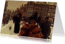 George Breitner. Stadsgezicht in Amsterdam
