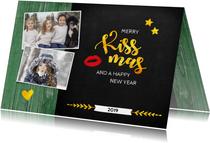 Kerst Merry Kissmas voor jou