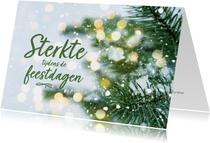 Kerstkaarten - Kerstkaart - sterkte tijdens de feestdagen
