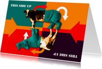 Kunstkaarten - kunstkaart This Side Up