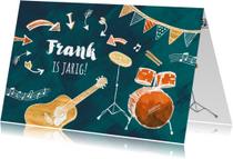 Muzikale verjaardagskaart