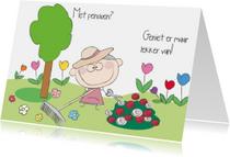 Felicitatiekaarten - Pensioen vrouw