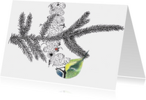 Kunstkaarten - 'Pimpelmeesje'