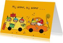 Sinterklaaskaarten - Sinterklaas 22