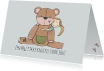 Sterkte kaarten - Sterkte Dikke knuffel - LFZ
