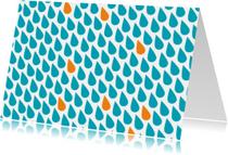 Sterkte kaarten - Sterkte Regenbui