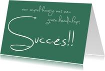 Succes kaarten - succes tekst
