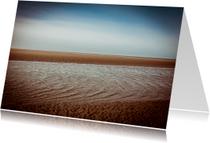 Rouwkaarten - The beautiful beach