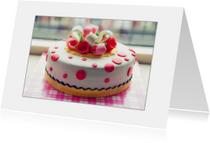 Verjaardagskaarten - Time voor taart