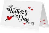 Vaderdag kaart Happy Father 's Day