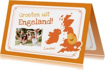 Vakantie Landkaart UK